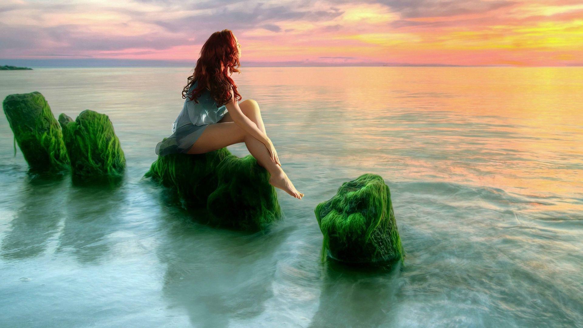 beauty-girl-sea-sunset-relax-desktop-hd-wallpaper-beauty