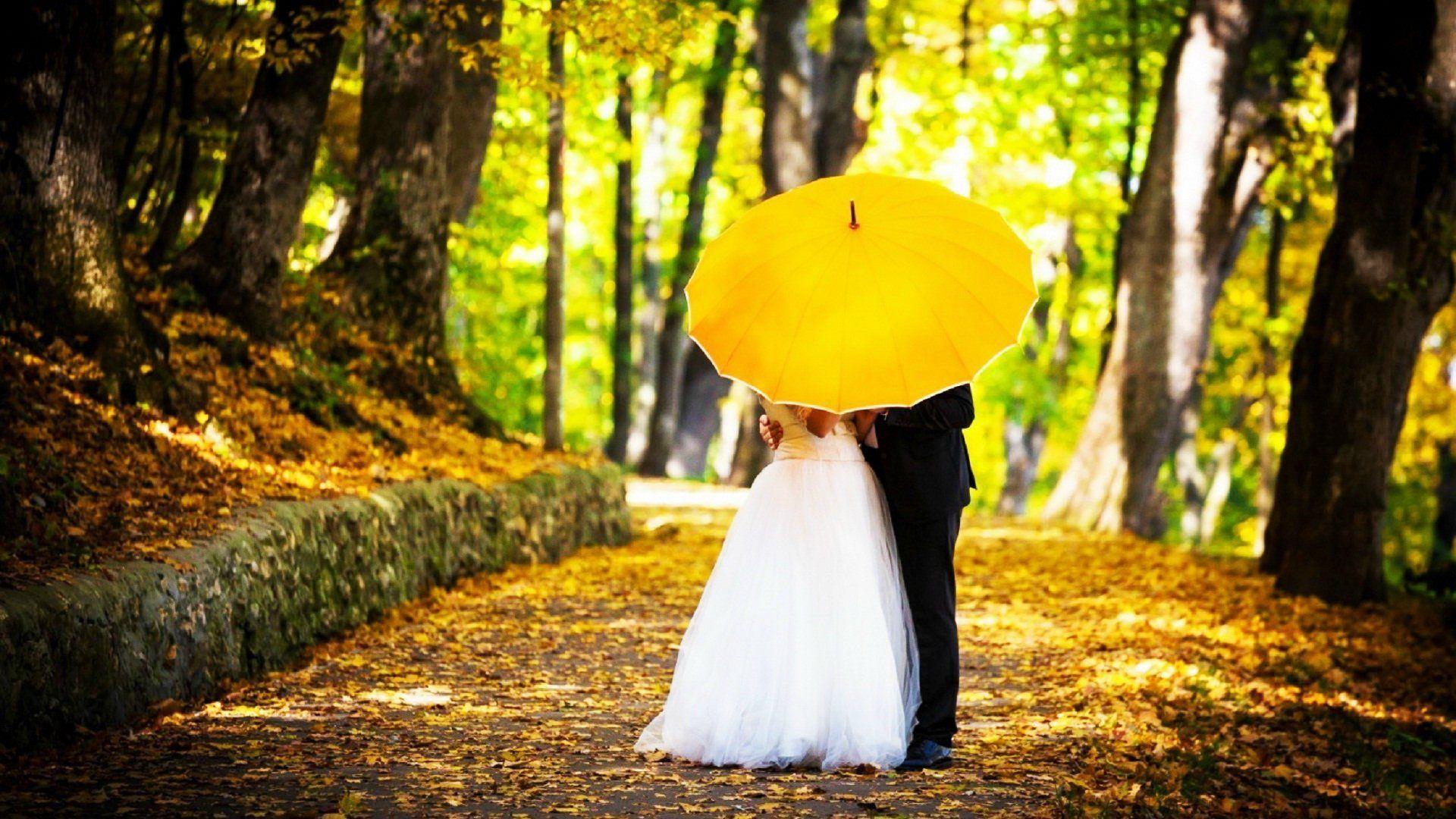 couple-kisses-under-umbrella-couple