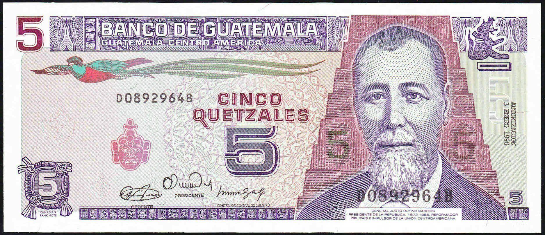 gtmp.745quetzales3.1.1990ba-money