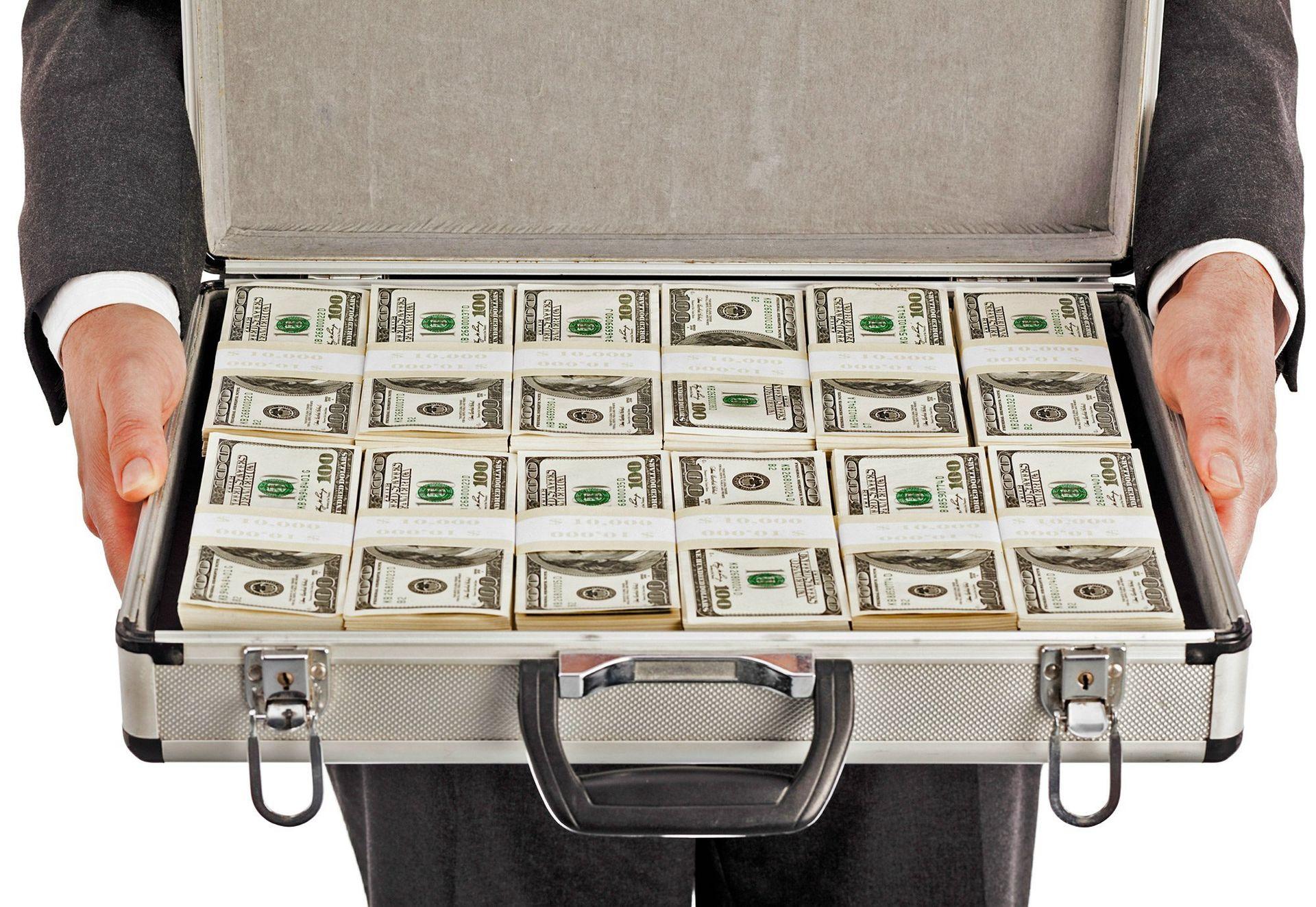 money-breifcase-money