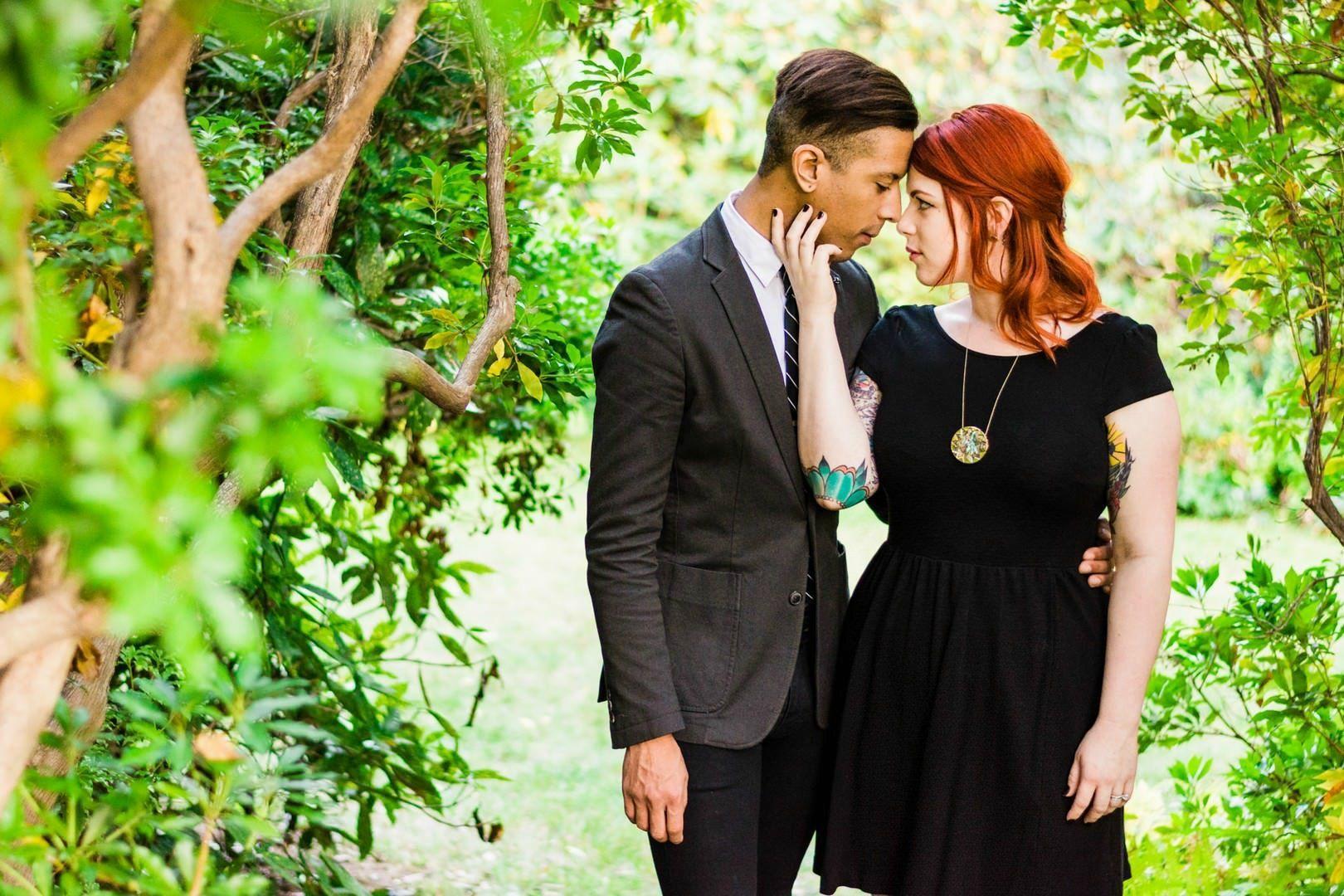 tattoo-redhead-interracial-couple-in-garden-nj-wedding-photographer-van-vleck-house-montclair-1-couple