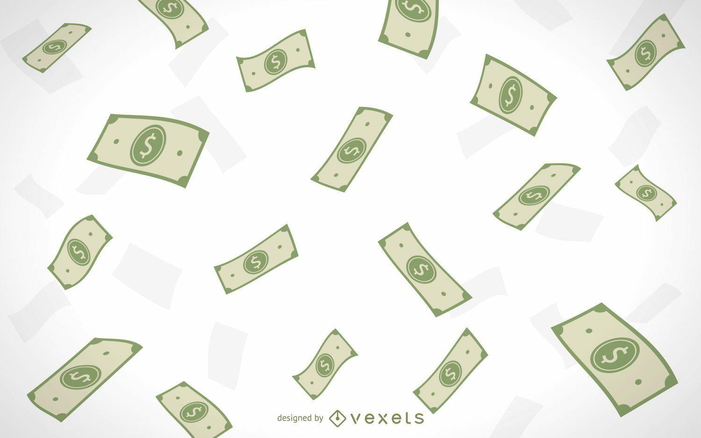 4c980f6f12b86655950dc9e03c04e8bc-illustrated-falling-money-money