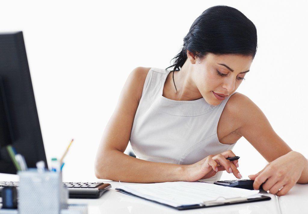 business-woman-accountant-calculator-bills-taxes-financial-business-woman