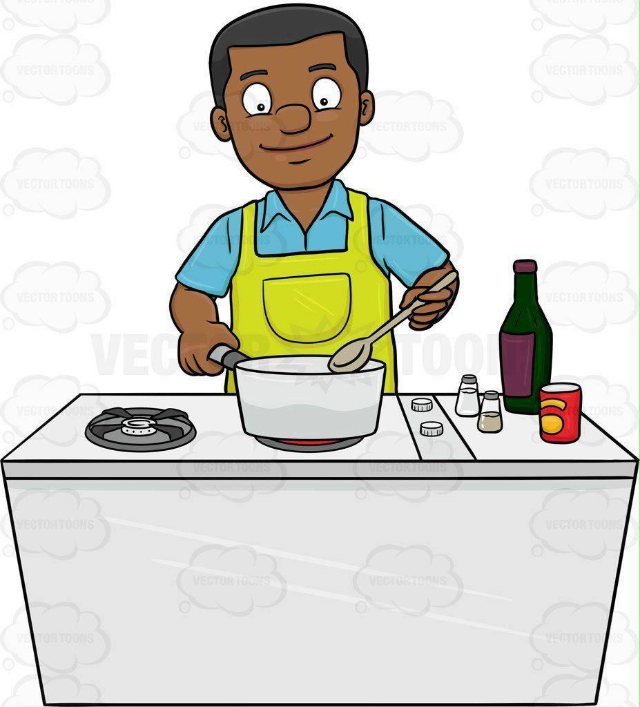 mancookingclipart14-cooking